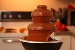 Schokoladenbrunnen © Flickr/ tetraconz