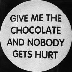 Schokoladige Drohung © Flickr/ procsilas