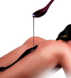 Schokoladige Massage