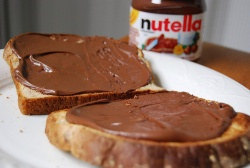 Nutellabrot © Flickr/ loveï½¥janine
