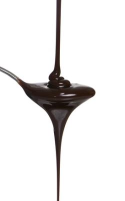 Zartschmelzende Schokolade