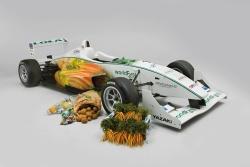 WorldFirst Formula 3 - Nur einige der Produkte, aus denen der neue WorldFirst Formula 3 Rennwagen besteht. Man habe versucht so viele Recycling- und Naturprodukte zu verwenden, wie möglich - meinen die Forscher © University of Warwick