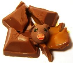 Viel schokoladiges Glück! © Flickr/ Darwin Bell