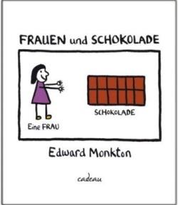 """""""Frauen und Schokolade"""" von Edward Monkton © Hoffmann und Campe"""