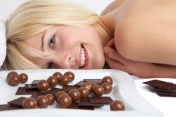 Schokolade ist gesund und macht glücklich