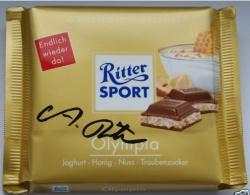 Ritter Sport Olympia handsigniert von Alfred T. Ritter