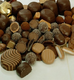Schokolade Pralinen © Fotoarchiv Höpfner