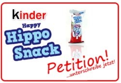 Petition Happy Hippo Snack © Candyholic.com