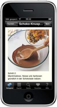 Unwiderstehliche Schokoladen-Rezepte für das iPhone, Quelle: openPR
