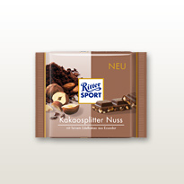 Bio Kakaosplitter Nuss Ritter Sport
