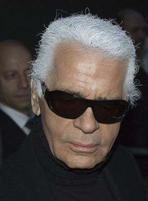 Karl Lagerfeld. Foto: Flickr/Siebbi