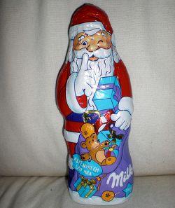 Schoko-Weihnachtsmann Milka