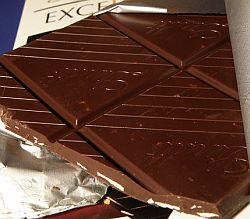 Lindt Schokolade.