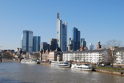 Frankfurt Skyline  tm-md / Flickr 